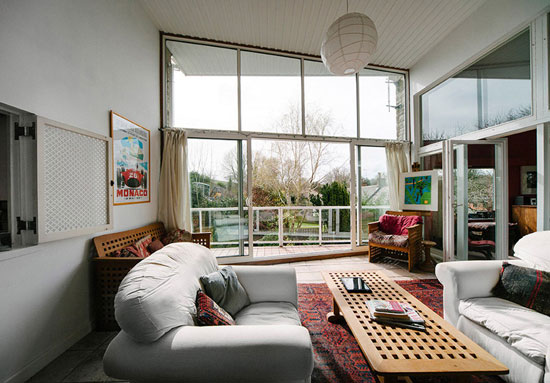 On the market: 1960s Anthony Stocken-designed midcentury modern property in Bowerchalke, Wiltshire