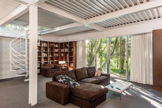 1960s John Sugden modernist property in Salt Lake City, Utah, USA