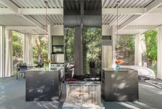 1960s John Sugden modernist property in Salt Lake City, Utah, USA
