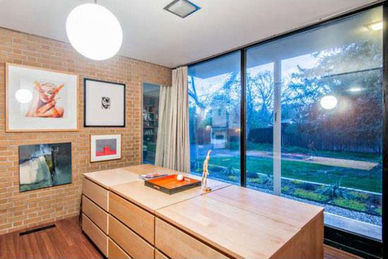 1950s modernism: Dean Gustavson-designed property in Holladay, Utah, USA