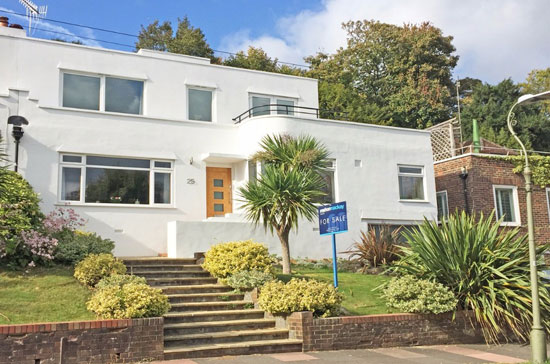 On the market: 1930s art deco-style property in Brighton, East Sussex