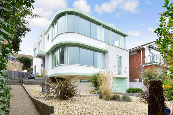 1930s art deco house in Brighton, East Sussex
