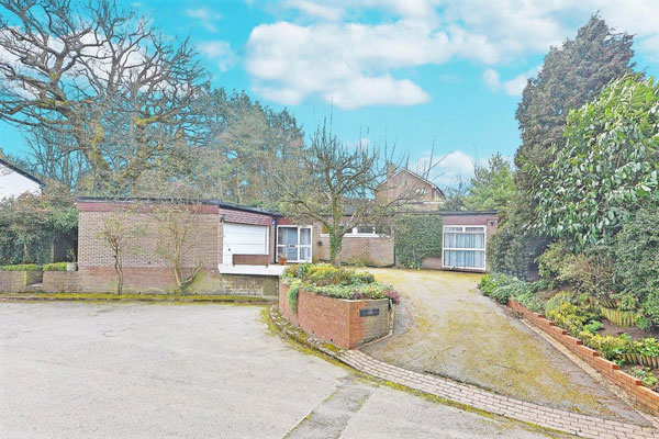 1960s modern house in Edgbaston, Birmingham, West Midlands