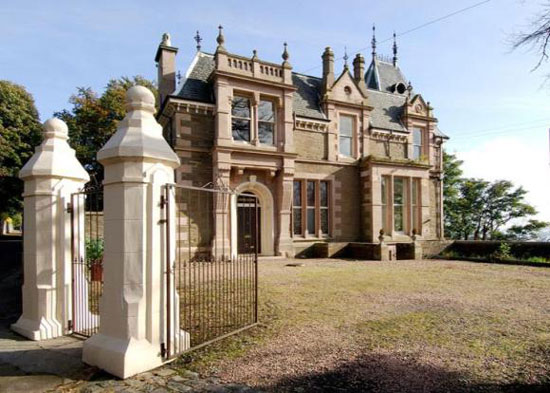 On the market: 19th century 14-bedroom Craig Gowan mansion in Broughty Ferry, near Dundee