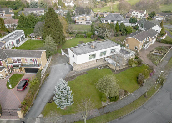 1970s modernist property in Bramcote, Nottingham
