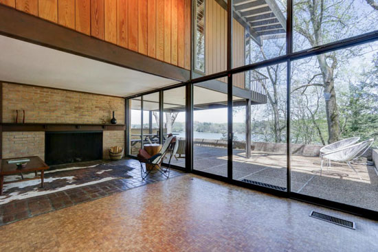 Time capsule for sale: 1950s Bruce McCarty-designed midcentury property in Knoxville, Tennessee, USA