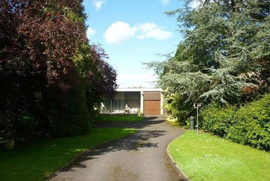 On the market: 1970s architect-designed three-bedroom bungalow in Saltford, Bristol, Avon