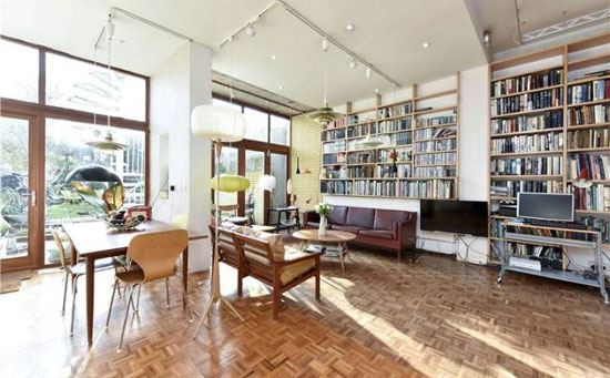 Back on the market: 1970s Peter and Sheila Brigham-designed modernist property in London SW17