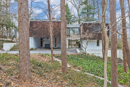 On the market: 1950s Marcel Breuer-designed Levy House in Princeton, New Jersey, USA