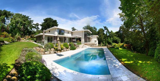 On the market: Midcentury-inspired five-bedroom property in Branksome Park, Poole, Dorset