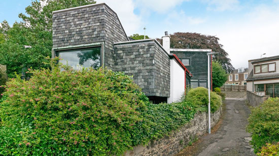 Scandinavian-style house in Broughty Ferry, near Dundee, Scotland