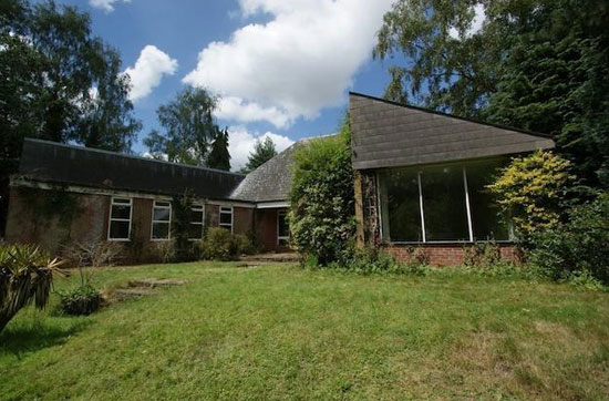 In need of renovation: Individually-designed 1970s property in Saxmundham, Suffolk