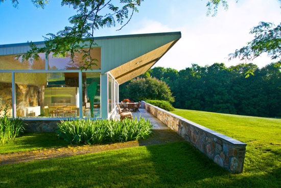 Marcel Breuer-designed Robinson House in Williamstown, Massachusetts, USA