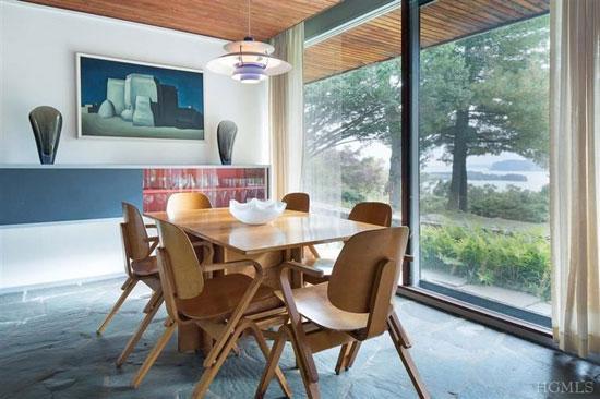 1950s Marcel Breuer-designed midcentury-modern property in Croton-On-Hudson, New York State, USA