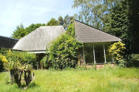Individually-designed 1970s property in Saxmundham, Suffolk