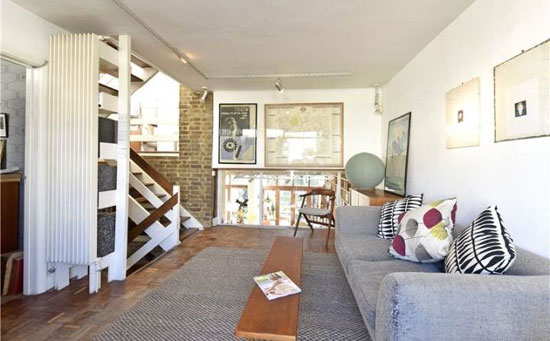 1970s Peter and Sheila Brigham-designed modernist property in London SW17