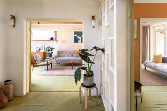 1960s Stafford Pollard time capsule house in Hayes, south-east London