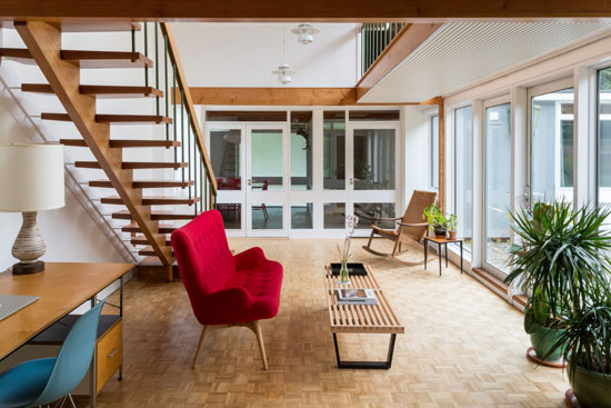1960s Gerald Beech midcentury modern house in Broadstairs