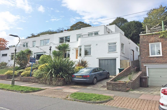 1930s art deco-style property in Brighton, East Sussex