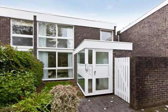 On the market: 1960s Eric Lyons-designed Span House on the Brackley estate, Weybridge, Surrey