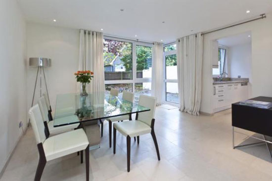 1960s Eric Lyons-designed Span House on the Brackley estate, Weybridge, Surrey