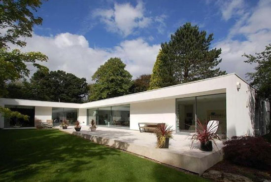 On the market: Three-bedroom contemporary modernist property in Bramhall, Cheshire