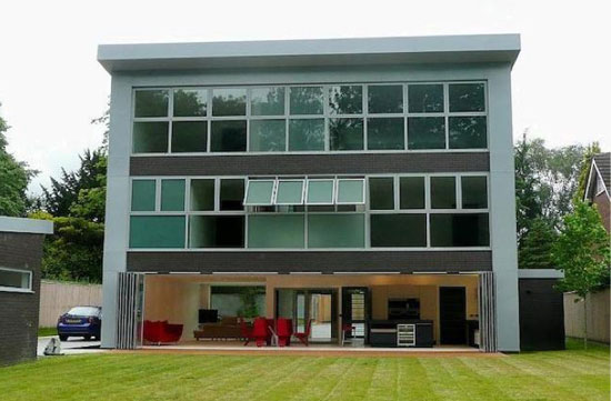 On the market: Five-bedroom contemporary modernist property in Bramhall, Cheshire