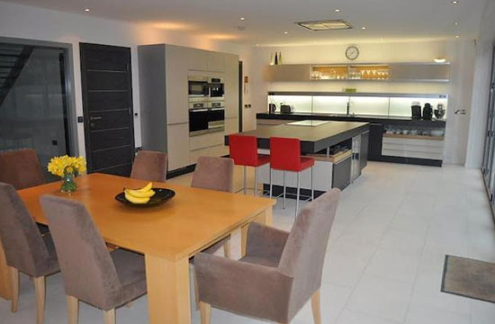 Five-bedroom contemporary modernist property in Bramhall, Cheshire