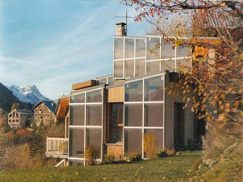 1970s five-bedroomed house in Briancon, South East France