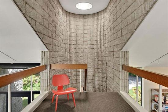 1970s Arthur Witthoefft-designed Branscombe Residence in North Castle, New York, USA