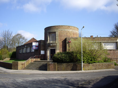1930s public library in Breightmet, Bolton, Lancashire