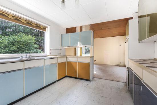1960s modernist renovation project in Brettenham, Suffolk