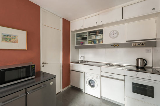 Barbican living: Apartment in Breton House on the Barbican Estate, London EC2