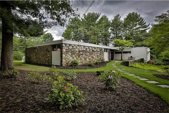 On the market: 1950s Marcel Breuer-designed modernist property in Andover, Massachusetts, USA