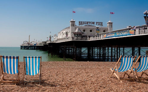 On the market: Grade II-listed Brighton Pier