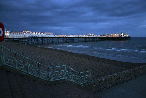 Grade II-listed Brighton Pier