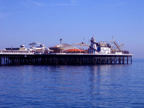 Grade II-listed Brighton Pier