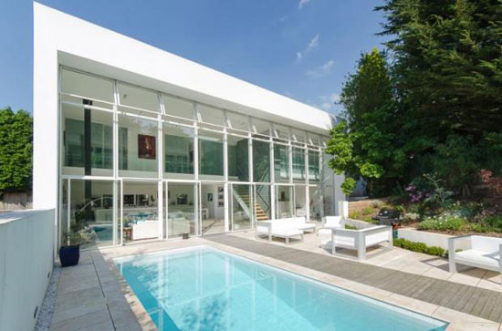 Grand design: Four-bedroom contemporary modernist property in Bristol, Avon