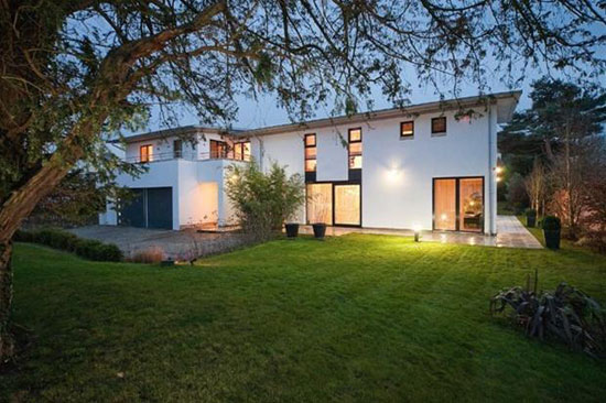 On the market: Six-bedroom contemporary modernist property in Abbots Leigh, near Bristol, Avon