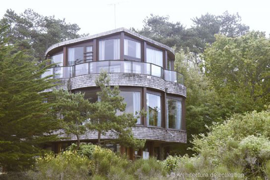1970s Martine Abraham-designed modernist property near Cap Frehel, Brittany, France