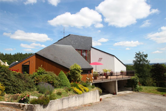On the market: 1980s modernist property in Saint Nicolas du Pélem, Brittany, northwestern France