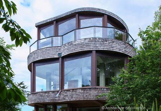 1970s Martine Abraham-designed modernist property near Cap Frehel, Brittany, France