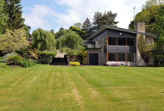On the market: 1960s architect-designed five-bedroom property in Barnt Green, Birmingham, West Midlands