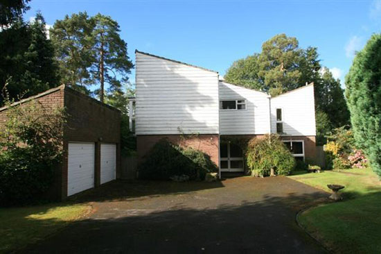 On the market: 1970s architect-designed five-bedroom property in Little Kingshill, Great Missenden, Buckinghamshire