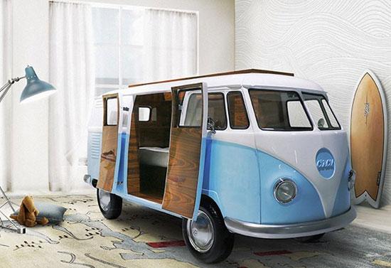 Circu Bun Camper Van bed