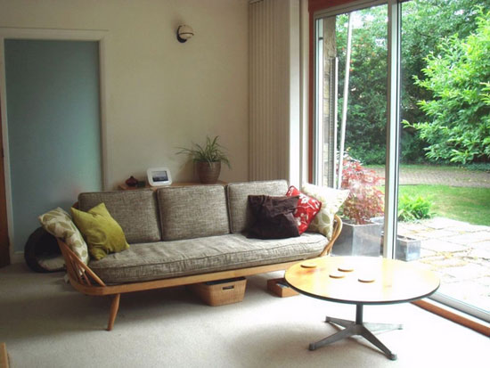 1960s midcentury-style bungalow in Mirfield, West Yorkshire