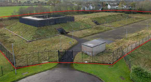 Nuclear bunker for sale in Ballymena, County Antrim, Northern Ireland