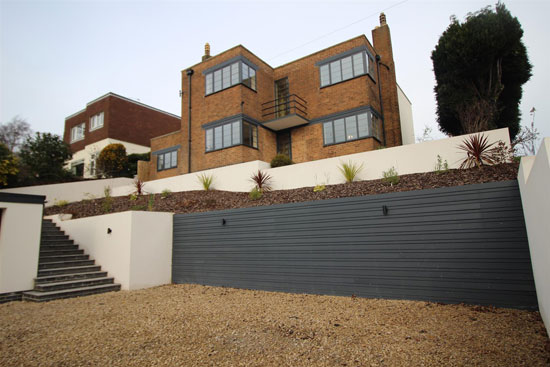1930s art deco property in Burton-on-Trent, Staffordshire