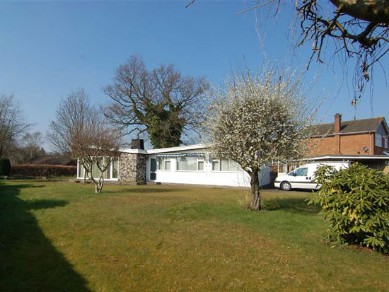 Up for auction: 1950s midcentury property in Congleton, Cheshire