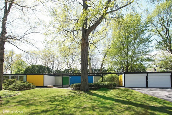 On the market: 1950s midcentury modern property in Michigan City, Indiana, USA